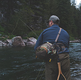 Purchase new luggage for your next fishing trip
